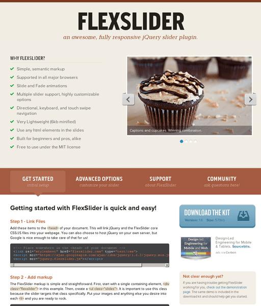 FlexSlider - Media Queries